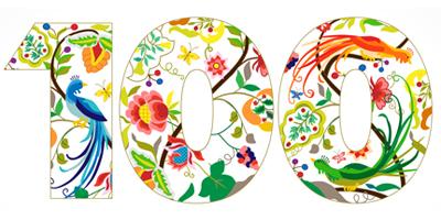 Floral Number 100