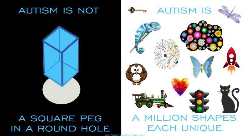 Autism Square Peg Round Hole