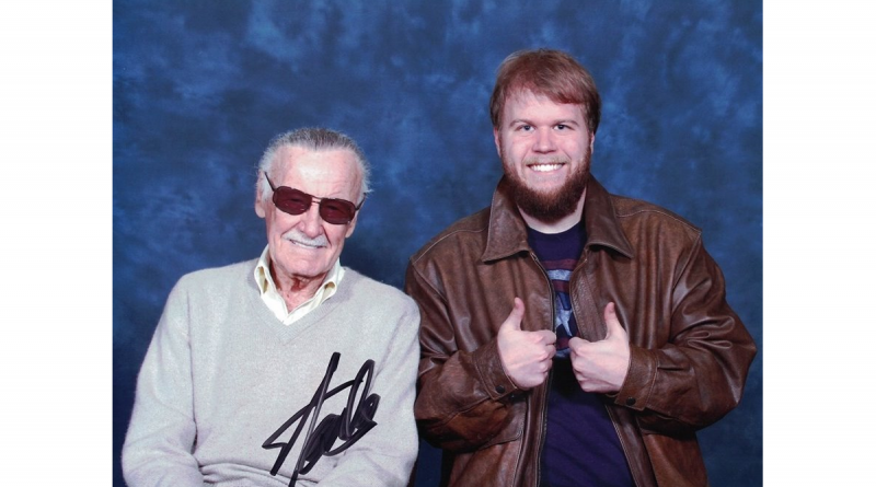 Stan Lee with Autistic Author